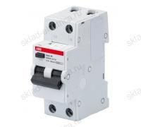 Автоматический выключатель дифференциального тока (АВДТ) 6А 30мА АС ABB