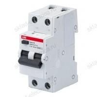 Автоматический выключатель дифференциального тока (АВДТ) 16А 30мА АС ABB