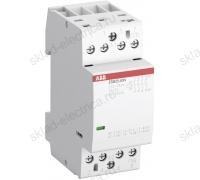 Контактор модульный 25А АВВ ESB25-40N-06 АС-1 4НО катушка 230В AC/DC 1SAE231111R0640