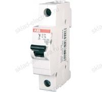 Выключатель автоматический однополюсный 20А C S201 6кА АВВ 2CDS251001R0204