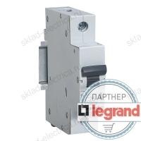 Автоматический выключатель однополюсный 16А хар-ка С Legrand 419664