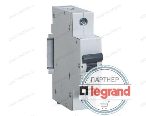 Автоматический выключатель онополюсный 6А хар-ка С Legrand