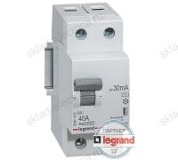Автоматический выключатель дифференциального тока АВДТ 6А 30мА Legrand 419396