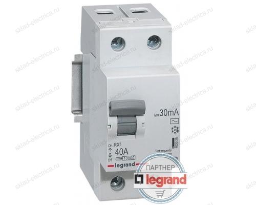 Автоматический выключатель дифференциального тока ( АВДТ ) 6А 30мА Legrand