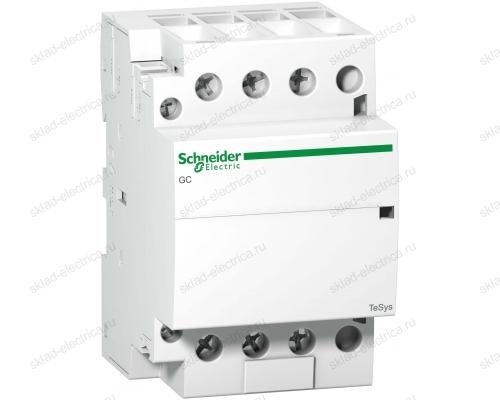 МОДУЛЬНЫЙ КОНТАКТОР iCT63A 4НО 220/240В АС 50ГЦ Schneider Electric A9C20864