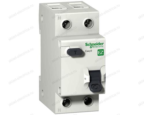 Автоматический выключатель дифференциального тока Schneider Electric Easy9 C10 AC30