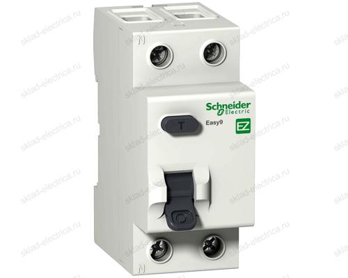 Выключатель дифференциальный двухполюсный (УЗО) Schneider Electric Easy9 25А AC10