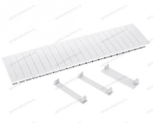 Заглушка для автоматов 12 модулей белая ИЭК