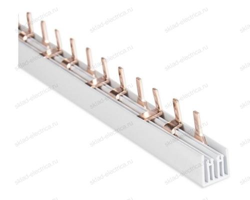 Шина соединительная PIN гребенка 3-полюса 63А 12 модулей