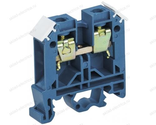 Зажим наборный изолированный ЗНИ 4 мм² синяя  (диапазон сечения 1,5-4мм²)