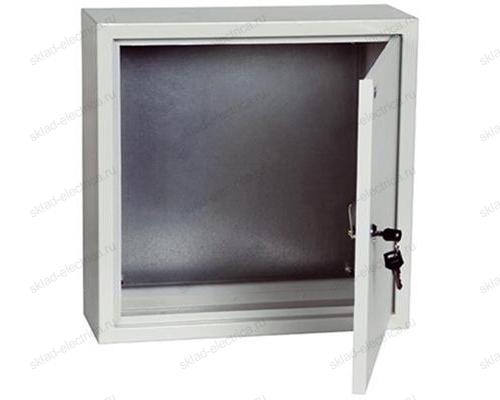 Щит металлический с монтажной платой ЩМП-4.4.1-0 36 УХЛ3 IP31 400х400х150