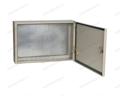 Щит металлический влагозащищенный с монтажной платой ЩМП-4.6.1-0 74 У2 IP54
