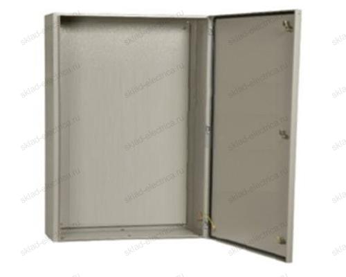 Щит металлический влагозащищенный с монтажной платой ЩМП-4-0 74 У2 IP54 800х650х250