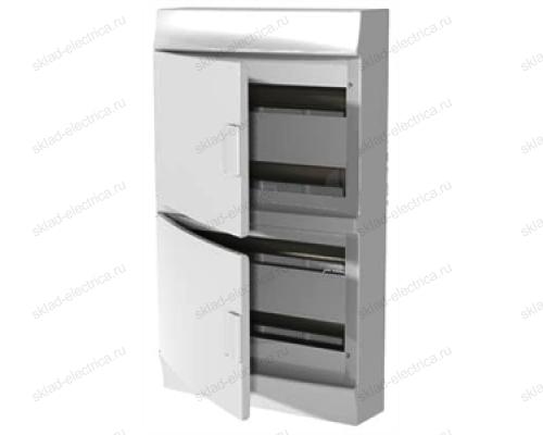 Щит АВВ распределительный навесной 48 мод. пластиковый белая дверца (с клеммными блоками)