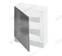 Щит АВВ распределительный навесной 24 мод. пластиковый дымчатая дверца (с клеммными блоками)