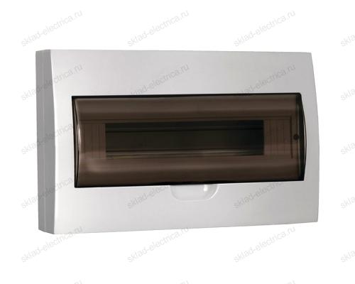 Бокс пластиковый накладной IEK ЩРН-П на 18 модулей с прозрачной дверкой