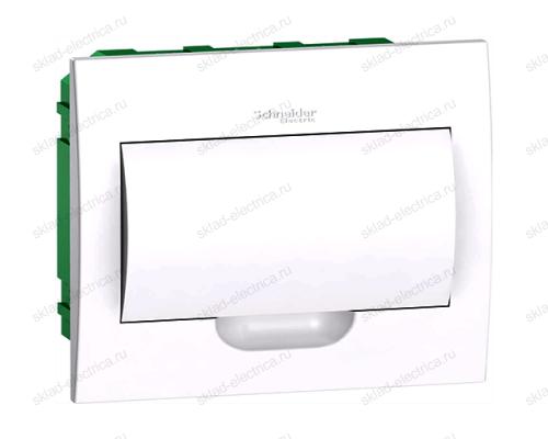 Бокс встраиваемый с белой дверцей Schneider Electric Easy9 на 12 модулей с клеммниками N+PE