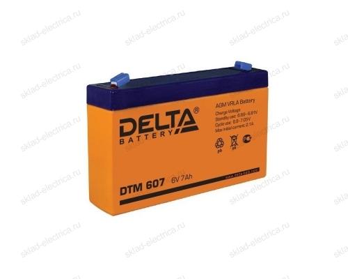 Аккумулятор 6В 7 А/ч 30-6070-4