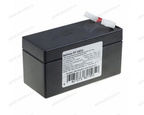 Аккумулятор 12В 1,2 А/ч 30-2012-4