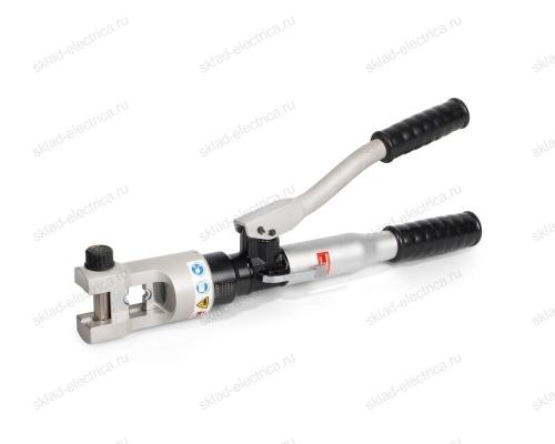 Пресс гидравлический ручной, выполненный из высокопрочных алюминиевых сплавов с механизмом АСД ПГРс-300АМ (КВТ)