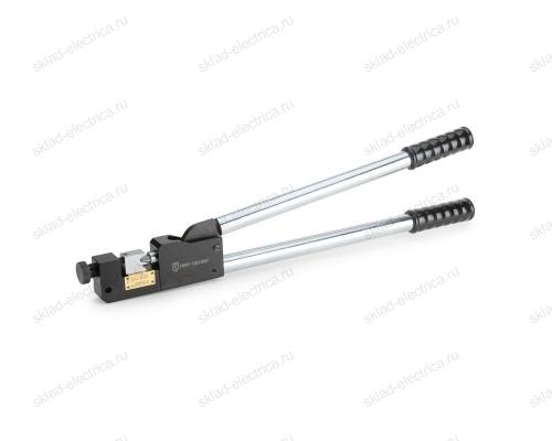 Пресс механический универсальный для клиновидной опрессовки наконечников ПМУ-120 (КВТ)