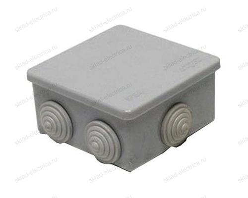Коробка распаячная открытый провод IP55 (80х80х40 мм)