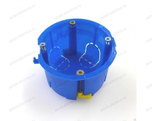 Коробка монтажная для установки в гипсокартон, подрозетник глубина 44 мм