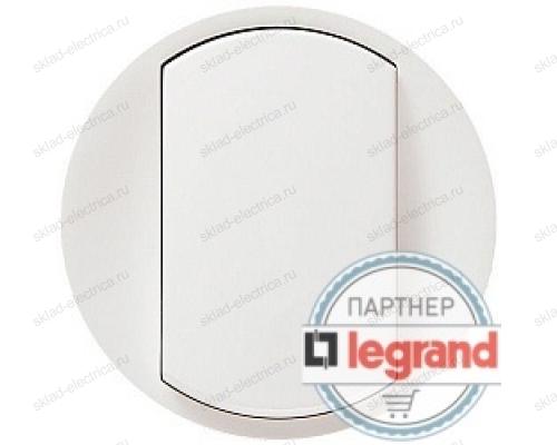 Выключатель одноклавишный перекрестный (из 3-х мест) Legrand Celiane 10А (белый) 68001 - 67005 - 80251