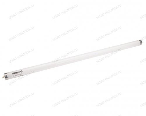 Лампа линейная люминесцентная ЛЛ 18Вт 640 G13 белая PHILIPS