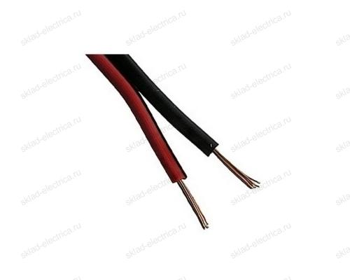Кабель акустический 2х1,5 мм² красно-черный (бухта 100 м)