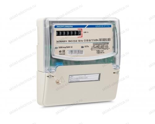 Счетчик электроэнергии трехфазный однотарифный 10(100) ЦЭ6803В 1 230В 10-100А М7 Р32 ЭМОУ Энергомера