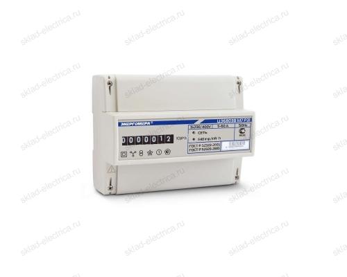 Счетчик электроэнергии трехфазный однотарифный 5(60) ЦЭ6803В 1 230В 5-60А М7 Р31 ЭМОУ Энергомера