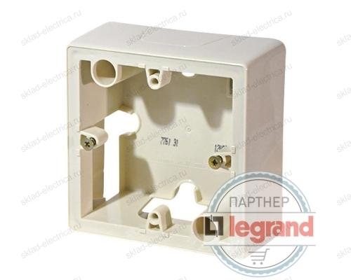 Коробка накладная для силовой розетки 20А Legrand 776131