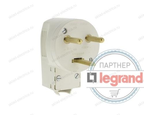 Вилка силовая для плиты 20А Legrand 055155