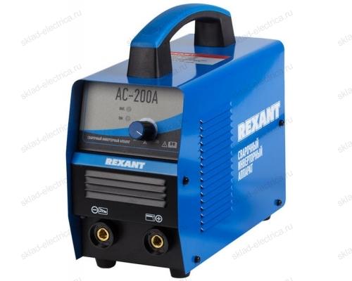 Сварочный аппарат инверторный REXANT® АС-200А 11-0912
