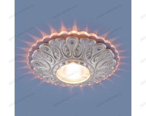 Встраиваемый потолочный светильник 6004 MR16 WH белый