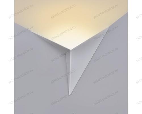Настенный светодиодный светильник Parete LED белый (MRL LED 3W 1008 IP20)