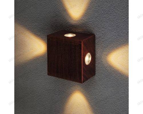 Kvatra уличный настенный светодиодный светильник 1601 TECHNO LED