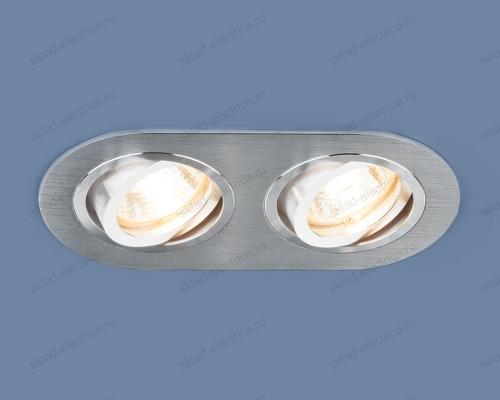 Алюминиевый точечный светильник 1061/2 MR16 SL серебро
