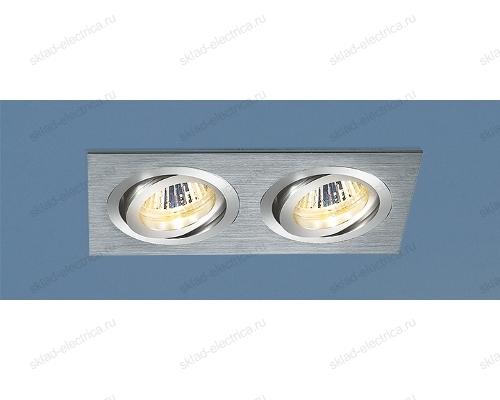 Алюминиевый точечный светильник 1011/2 MR16 CH хром