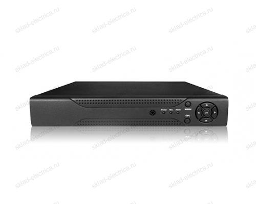 Видеорегистратор гибридный 8-ми канальный AHD-H (1080p)/IP, (без HDD) 45-0181