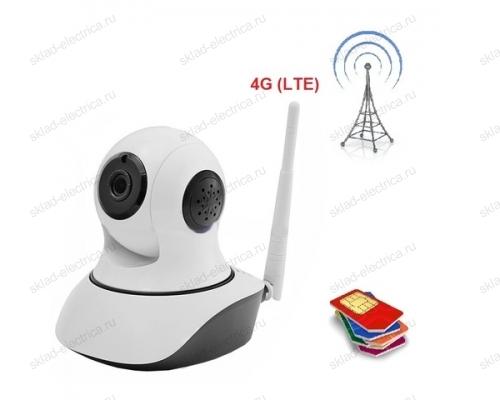 Беспроводная поворотная 4G (LTE) Smart HD камера, ИК 10 м 45-0269