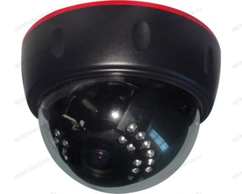 Купольная IP видеокамера 4Мп, ИК 30м, 2.8-12 мм, PoE 45-0372